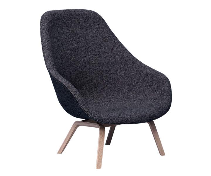 about a lounge chair fra hay fri fragt. Black Bedroom Furniture Sets. Home Design Ideas